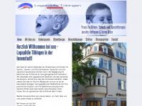 logopaedietuebingen.de Webseite Vorschau