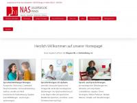 logopaedie-nas.de Webseite Vorschau