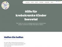 kinderkrebshilfe-seevetal.de Webseite Vorschau