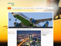 uzbekistan-airlines.de Webseite Vorschau
