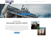 vega-apart-hotel.de Webseite Vorschau