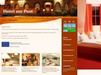 zur-post-calau.de Webseite Vorschau