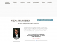 immobilien-wiegmann.de Webseite Vorschau