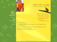 kita-hausfuerkinder.de Webseite Vorschau