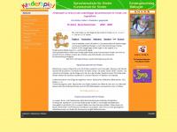 kinderspiel-pb.de Webseite Vorschau