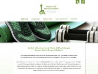 physio-obst.de Webseite Vorschau