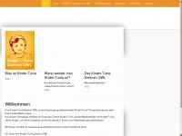 kindertuina.de Webseite Vorschau