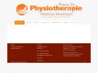 physiotherapiekoeln.de Webseite Vorschau