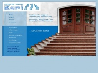 treppenbau-karl.de Webseite Vorschau