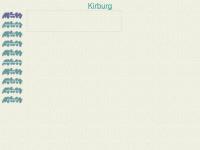 kirburg.de Webseite Vorschau