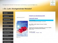 kirche-weixdorf.de Webseite Vorschau