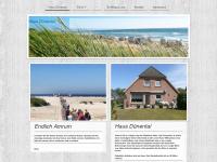 amrum-duenental.de Webseite Vorschau