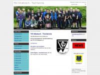 tt-marbach.de Webseite Vorschau