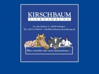 kirschbaum-tiernahrung.de Webseite Vorschau