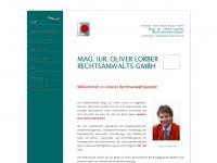 lorber.at Webseite Vorschau