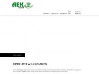 aek.at Webseite Vorschau