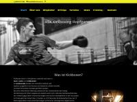 kick-boxen.at Webseite Vorschau