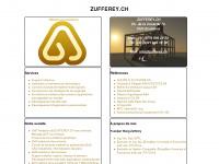 zufferey.ch Webseite Vorschau