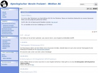kvf-wohlen.ch Webseite Vorschau
