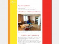 physio-merkur.ch Webseite Vorschau
