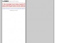 lomo.ch Webseite Vorschau