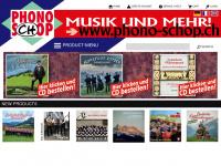 phono-schop.ch Webseite Vorschau