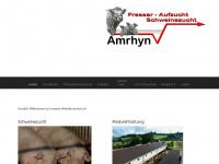 amrhyn.ch Webseite Vorschau