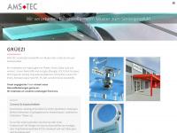 ams-tec.ch Webseite Vorschau