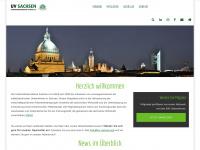 uv-sachsen.org Webseite Vorschau