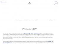 photonicsbw.de Webseite Vorschau