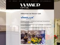 wanneroptik.ch Webseite Vorschau