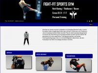 kick-boxing.ch Webseite Vorschau