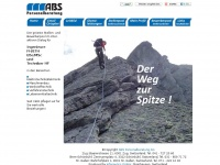 abs-personal.ch Webseite Vorschau