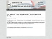 zuest.ch Webseite Vorschau