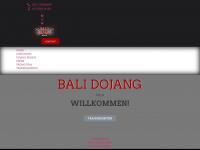 bali-dojang.de Webseite Vorschau