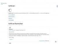kvfg.net Webseite Vorschau