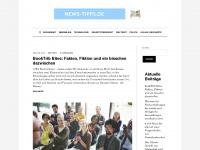 news-tipps.de Webseite Vorschau