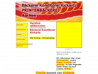 kickartz-printen.de Webseite Vorschau