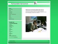 kath-zurhorst.de Webseite Vorschau