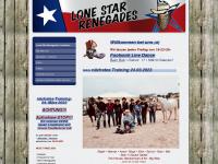 lone-star-renegades.de Webseite Vorschau