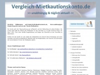 vergleich-mietkautionskonto.de