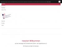 kinderundjugendchor.de Webseite Vorschau