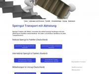 sperrgut-transport.com