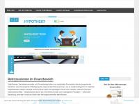 kickbacks.ch Webseite Vorschau