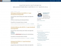 kzvb.blogspot.com Webseite Vorschau