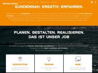 3punktdesign.de Webseite Vorschau