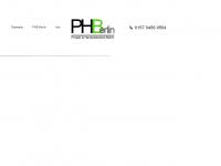 phb-berlin.de Webseite Vorschau