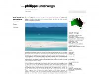 philippeunterwegs.wordpress.com Webseite Vorschau