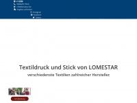 lomestar.de Webseite Vorschau