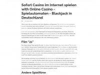 kinderknete.com Webseite Vorschau